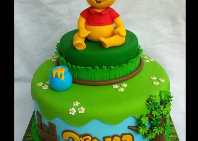 עוגת-פו-הדב-דבש