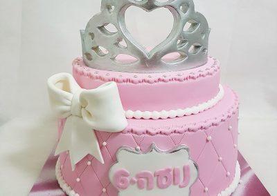 עוגת כתר נסיכות