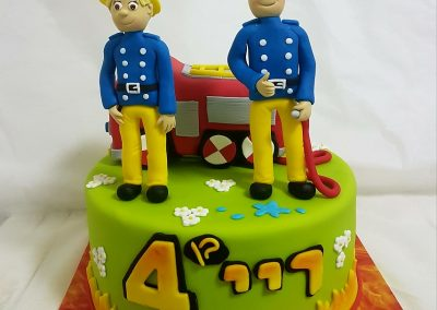 עוגת סמי הכבאי והכבאית