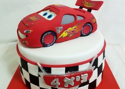 עוגת ספידי מקווין