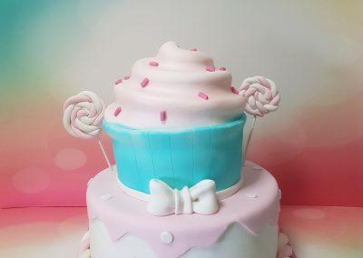 עוגת קאפקייקס גדול