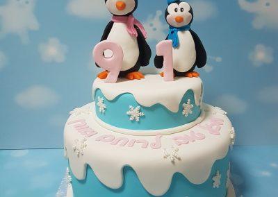 עוגת פינגווינים