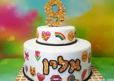 עוגת אימוג'י