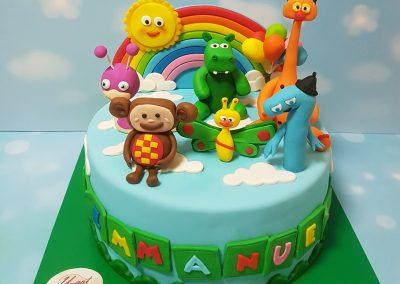 עוגה ליום הולדת שנה