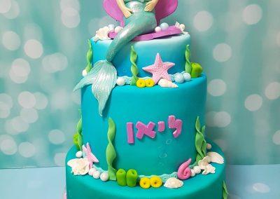 עוגת בת הים קומות