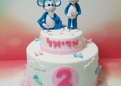 עוגת קופים כחולים