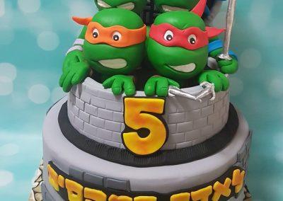 עוגת צבי הנינג'ה גדולים