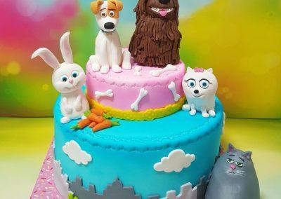 עוגת חיות הבית