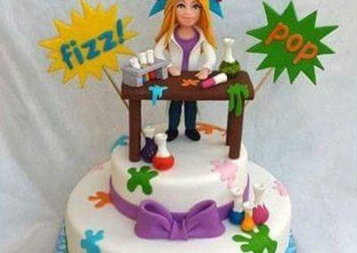 עוגת מדענית