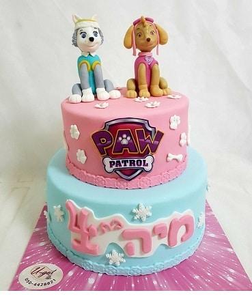 עוגת כלבים יחידת חילוץ
