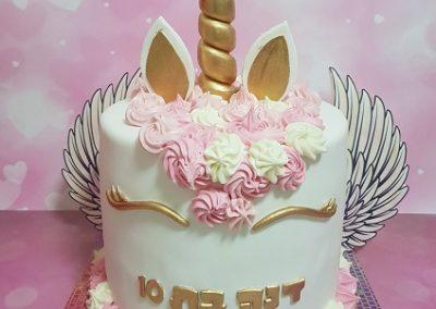 עוגת חד קרן כנפיים