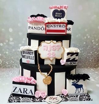 עוגת מותגים שקיות