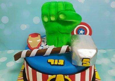 עוגת סימני הגיבורים