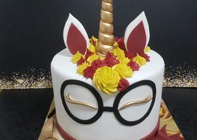 עוגת חד קרן הארי פוטר