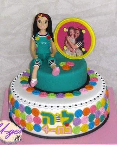 עוגת מיקי כוכבת ילדים