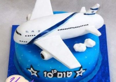 עוגת מטוס אל על
