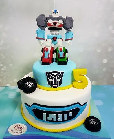 עוגת רובוט טובוט