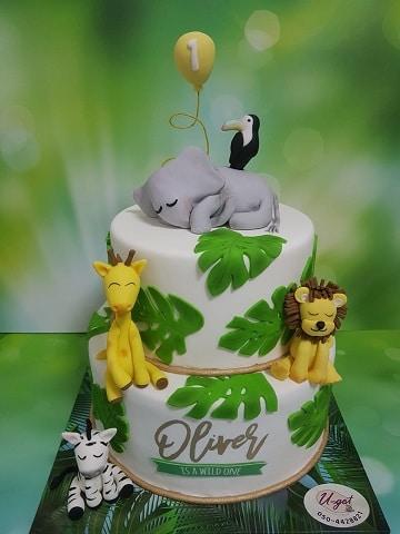 עוגת ספארי