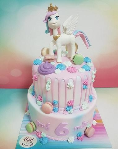 עוגת סוס חד קרן