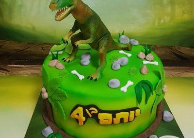 עוגת טי רקס