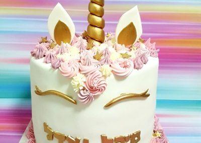 עוגת חד קרן גבוהה