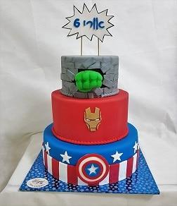 עוגת קומות הגיבורים