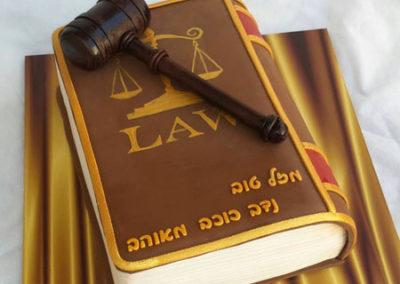 עוגה לעורך דין