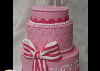 עוגת בת מצווה סוס דו מימדי
