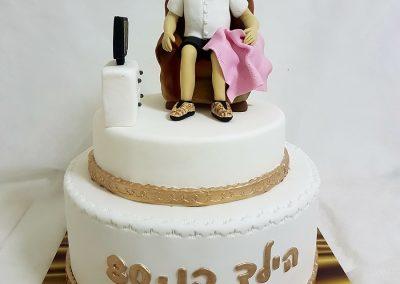 עוגה לסבא בן 80