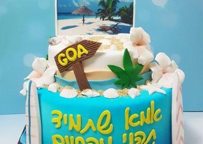 עוגת חוף