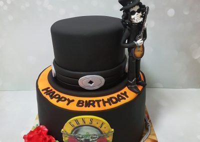 עוגת GUNS N ROSES