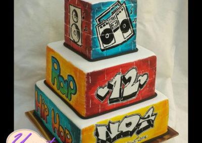 עוגת היפהופ קומות