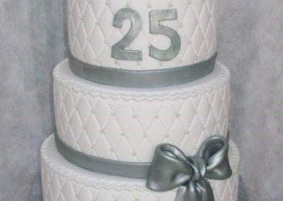 עוגת חתונת הכסף