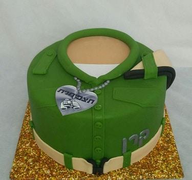 עוגה לחיילת שהיא תצפיתנית