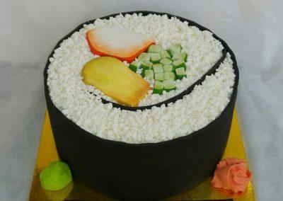 עוגת סושי ענק