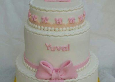 עוגת בת מצווה קומות