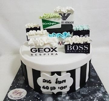 עוגת מותגים לגבר