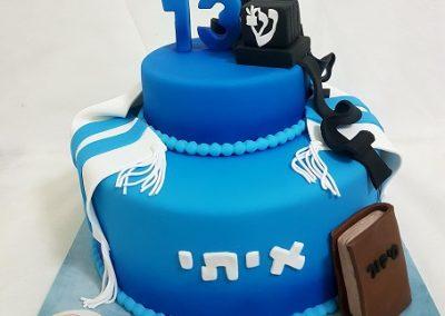 עוגת בר מצווה 13