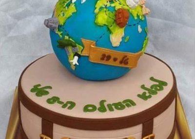עוגת פלאי עולם על כדור הארץ