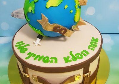 עוגת מסביב לעולם