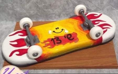 עוגת סקייטבורד