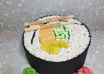 עוגת סושי ענקי