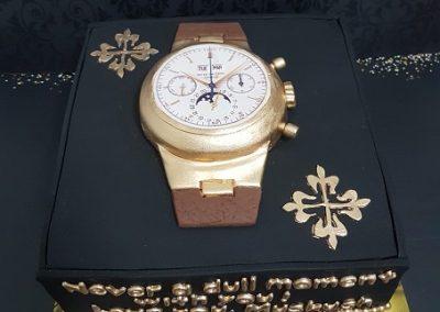 עוגת שעון גדול