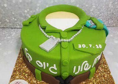 עוגת גיוס לחייל