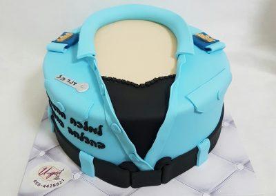עוגת מדים של שוטרת