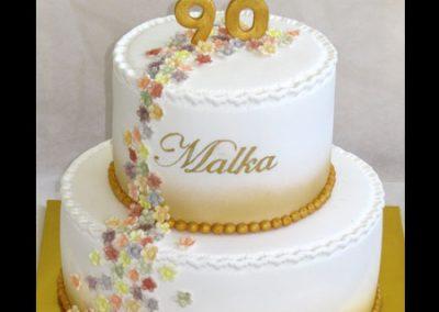 עוגה מוזהבת 90