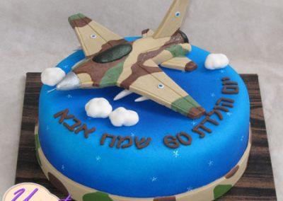עוגת מטוס קרב