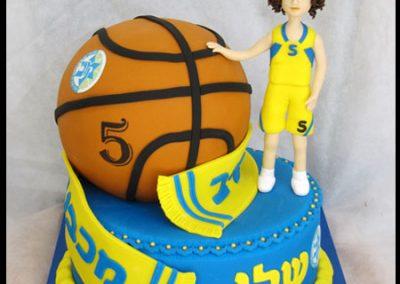 עוגת כדורסל 2