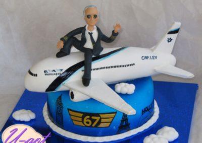 עוגת מטוס בואינג 777