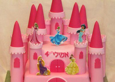 עוגת טירת נסיכות
